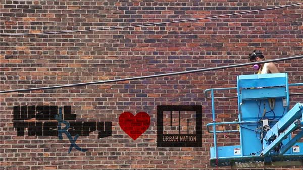 WALLTHERAPY & URBAN NATION